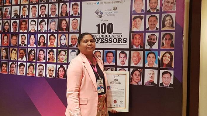 SQU prof honoured at World Education Congress