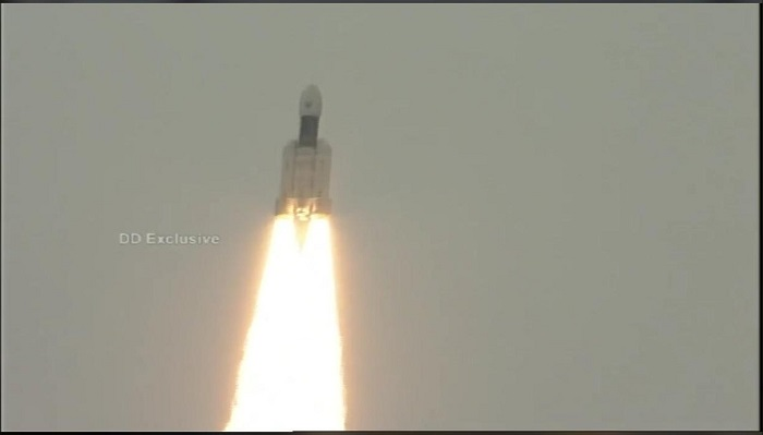 India successfully launches Chandrayaan-2