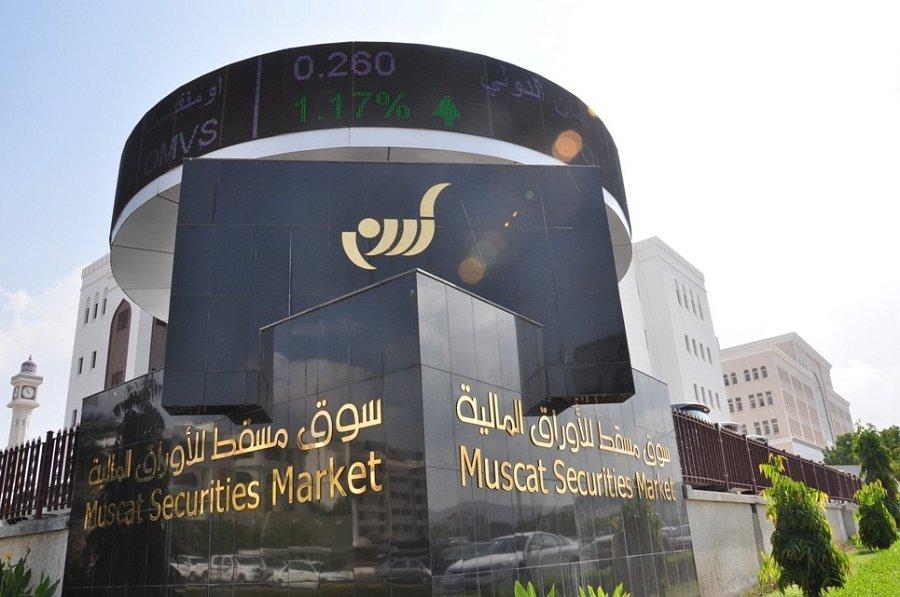 Oman's share index closes lower marginally
