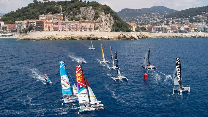 Oman Sail's four teams finish the Tour Voile with a flourish