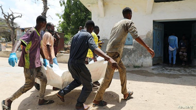 At least 17 killed in Somalia bombing