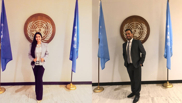 Omani youth make a difference at UN meet