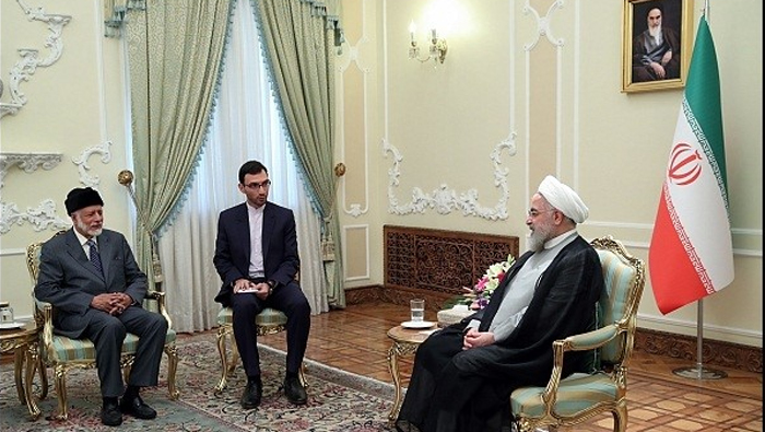 Alawi conveys His Majesty's greetings to Iranian President Rouhani