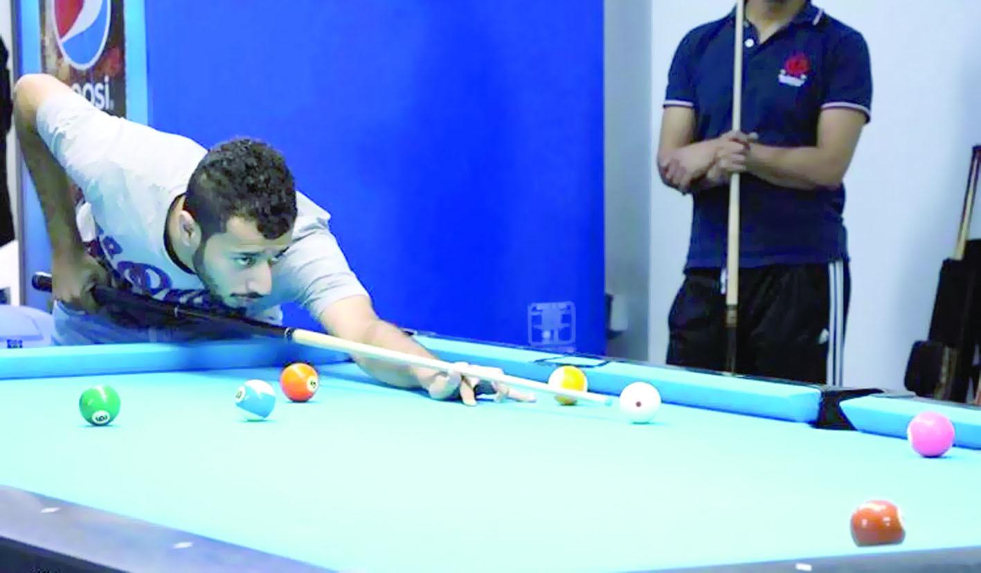 64 لاعبا من دول مختلفة يثرون بطولة عمان المفتوحة للبلياردو