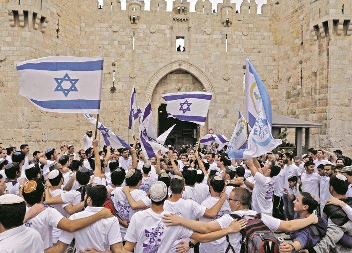 """مستوطنون يهود يقتحمون """"الأقصى"""" وسط حراسة قوات الاحتلال الإسرائيلى"""