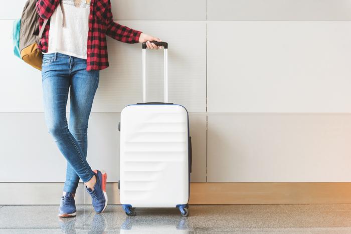 Dressing tips for long flights