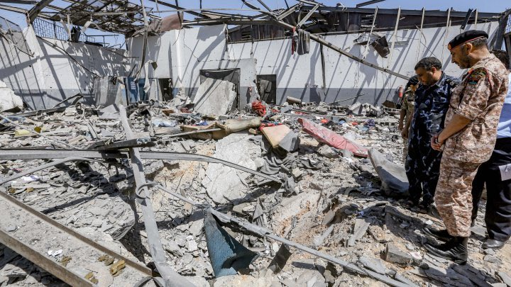 UN condemns Libyan attack in strongest terms