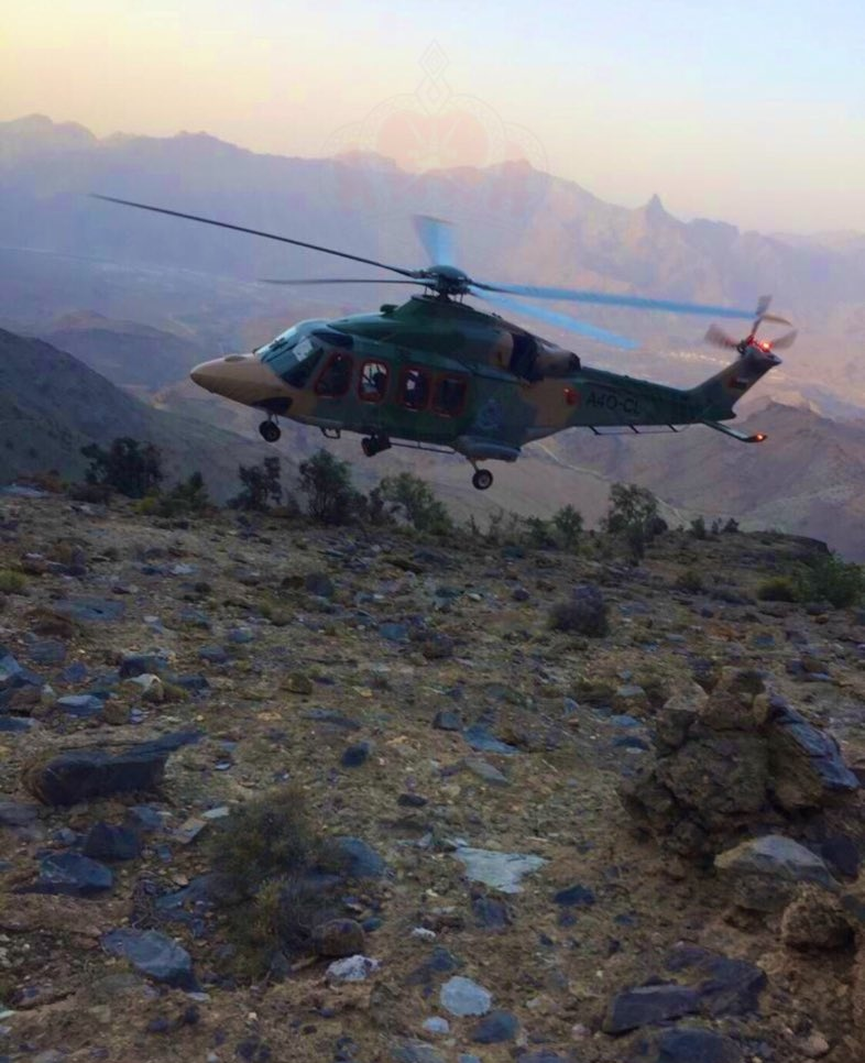 Climber rescued from mountain in Al Rustaq