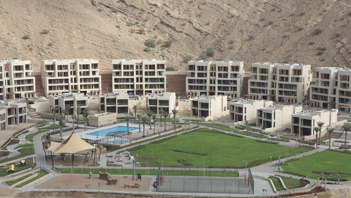 Phase 1 of Muscat Bay project completed