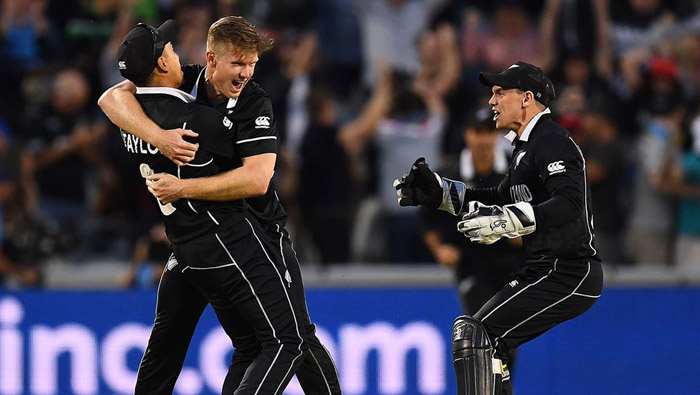 New Zealand qualify for CWC19 semi-finals