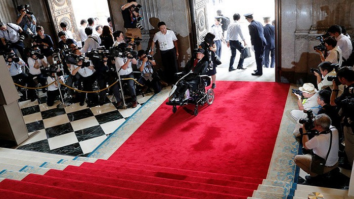 Japanese parliament welcomes more women, disabled members