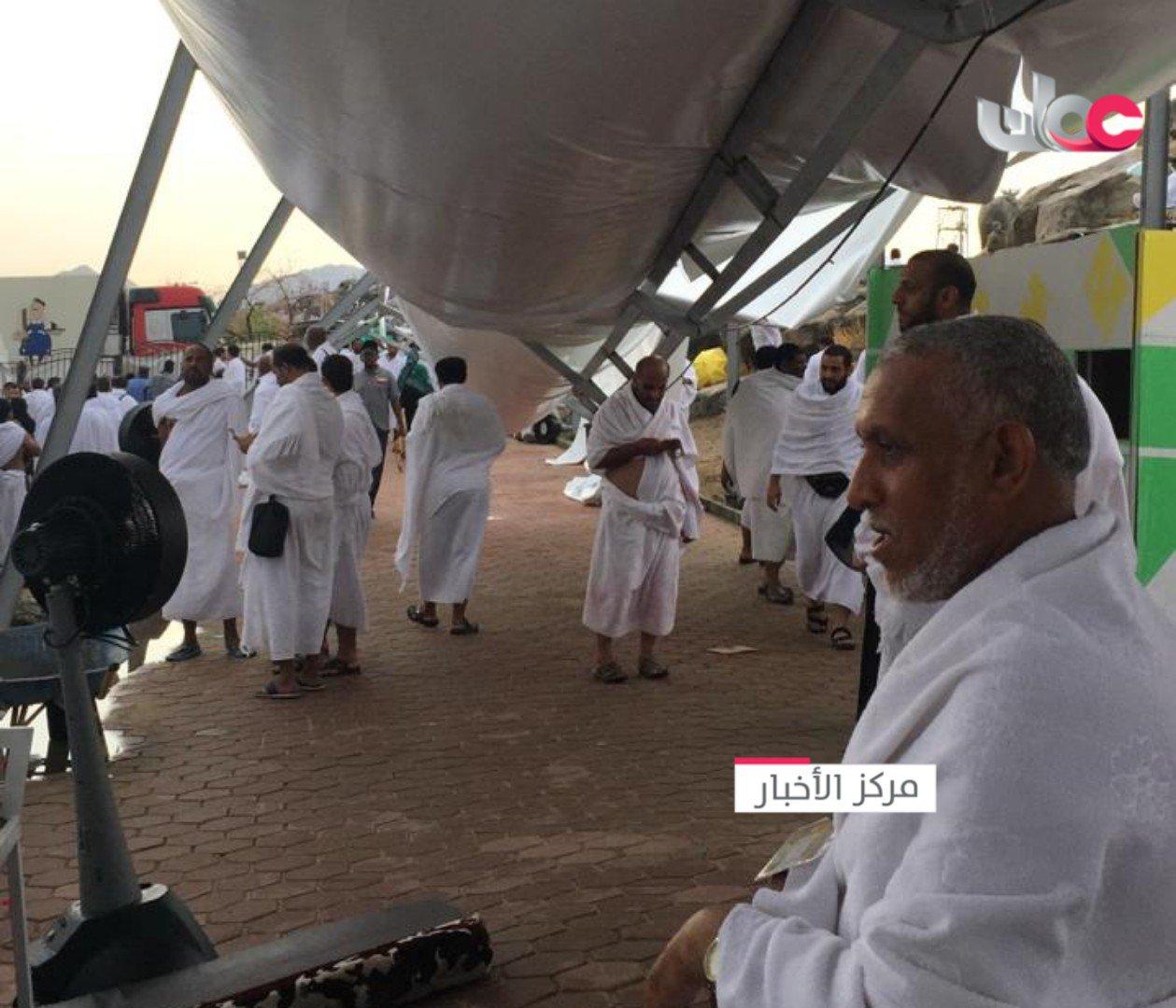 Oman's Haj pilgrims safe after cover falls