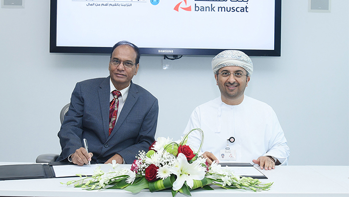 Bank Muscat signs agreement with Al Omaniya Financial Services