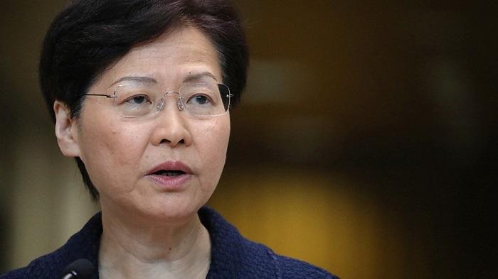 Hong Kong CEO shuns protestors' demands