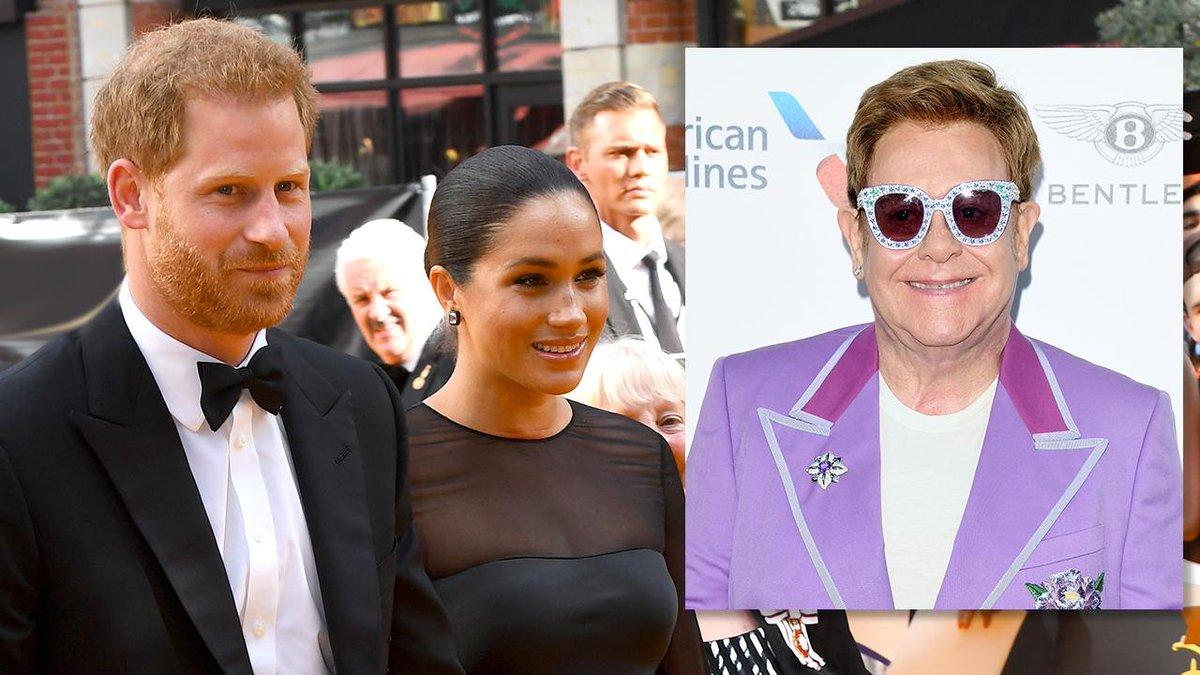 Elton John defends Prince Harry and Meghan's private jet trips