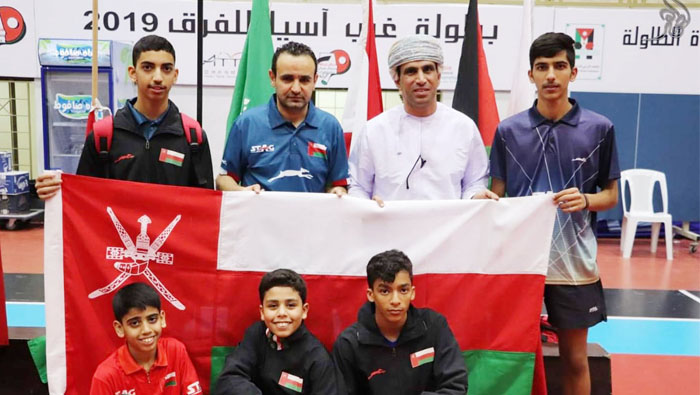 Omani paddlers deliver their best at West Asian Championships