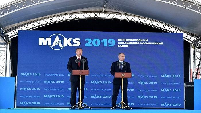 Putin, Erdogan hail close defence ties despite difference over Syria