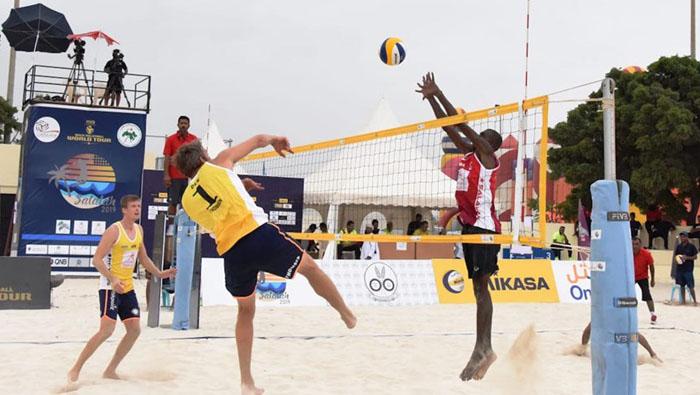 Denmark wins World Beach Volleyball Championship