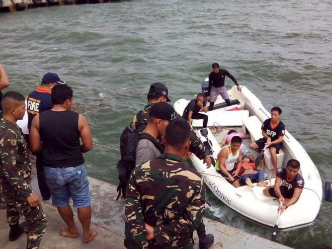 Seven dead after boats capsize in the Philippines