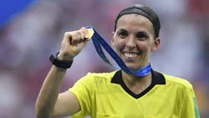 Frenchwoman Frappart makes history by officiating UEFA Super Cup