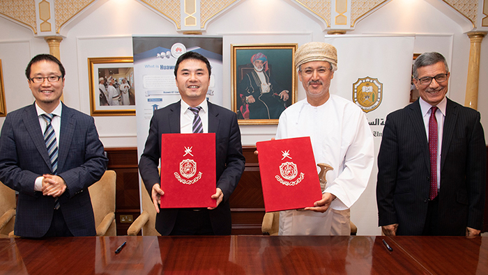 SQU, Huawei sign agreement to transfer ICT technologies