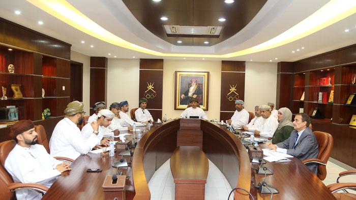 Sayyid Khalid meets Oman Athletics Association