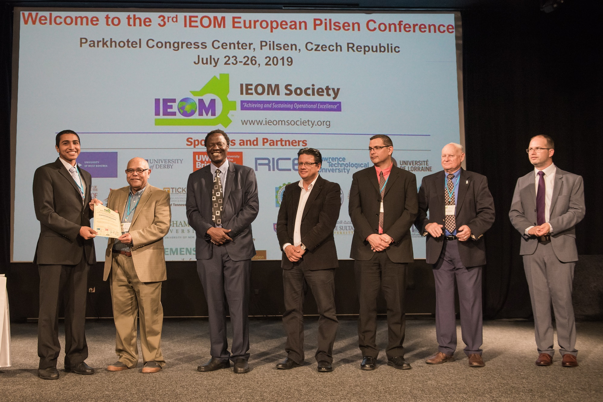 Omani student's project earns praise at European conference