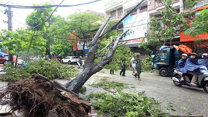 Typhoon Wipha leaves one dead, 15 missing in Vietnam