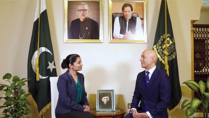 Most rewarding three years of my life: Pakistan Ambassador
