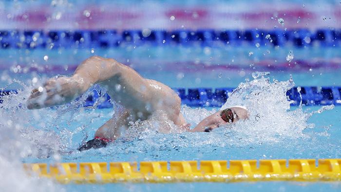 Hosts Japan wins mixed medley relay gold at FINA Swimming World Cup