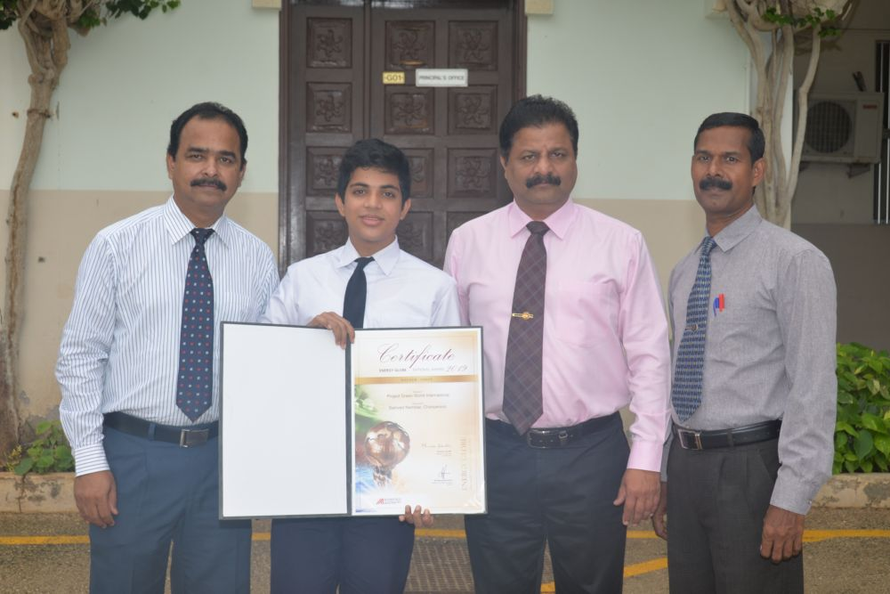 Indian school student in Oman wins international environmental award