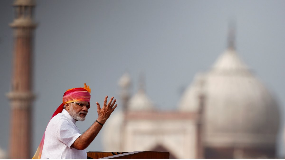Indian Prime Minister Modi to address nation today