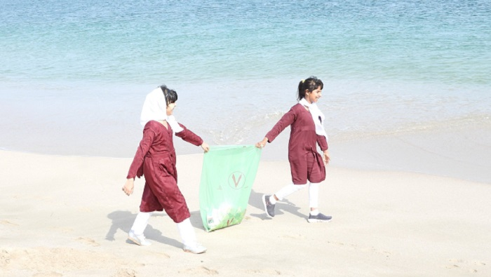 In pictures: Beach cleaning campaign at South Al Sharqiyah