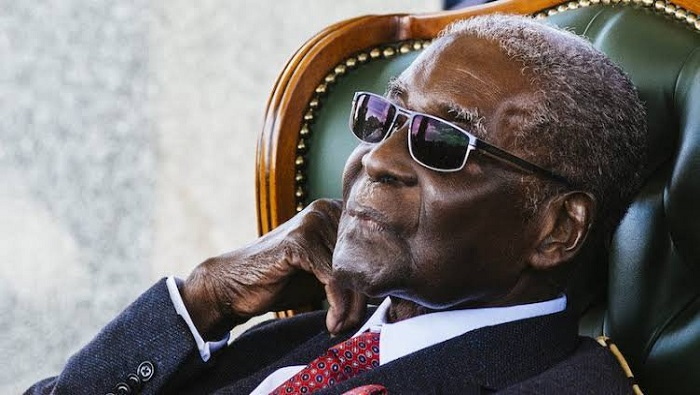 Former Zimbabwe President Robert Mugabe's body being flown home
