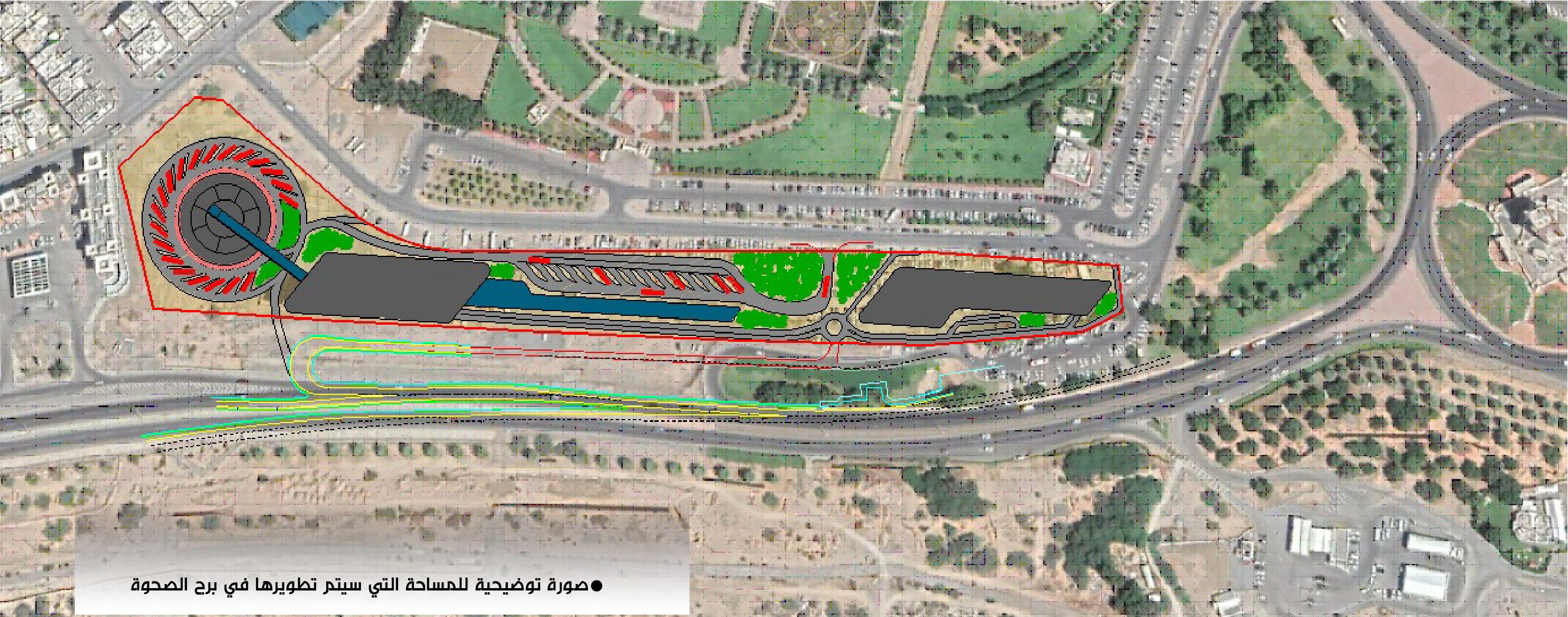 Public transport station coming to this area in Muscat
