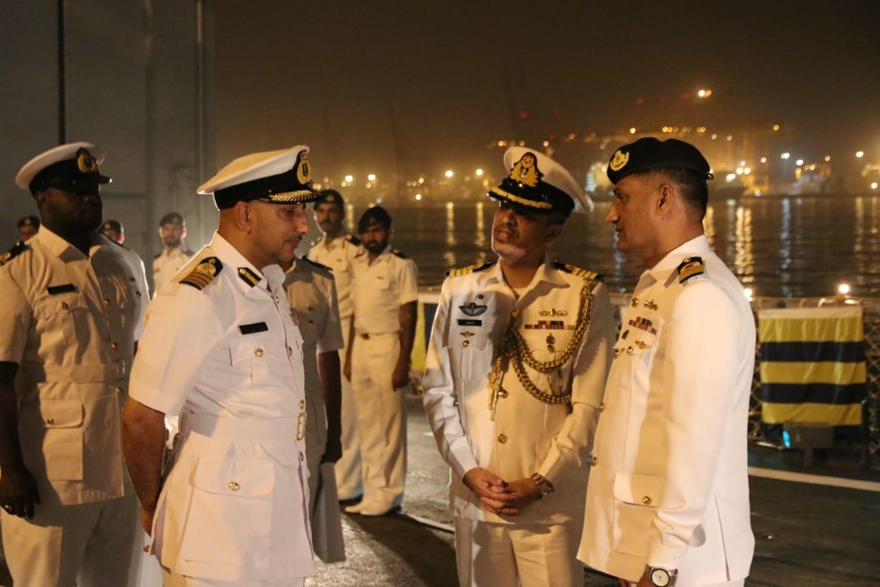 Pakistani Naval Ship visits Oman as part of maritime security patrol