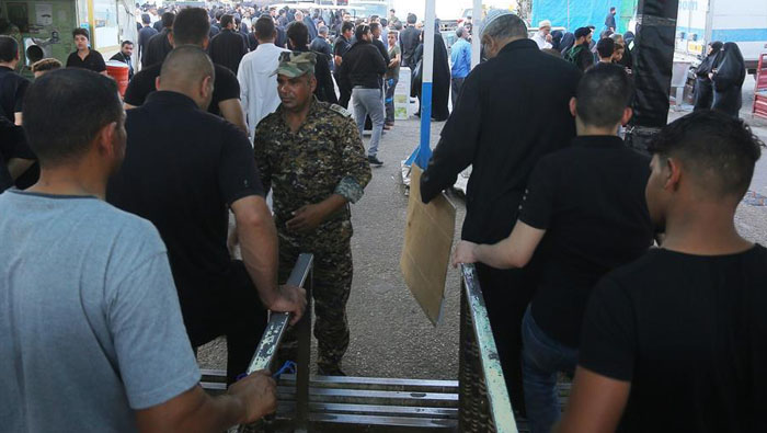 31 pilgrims killed in Iraq stampede