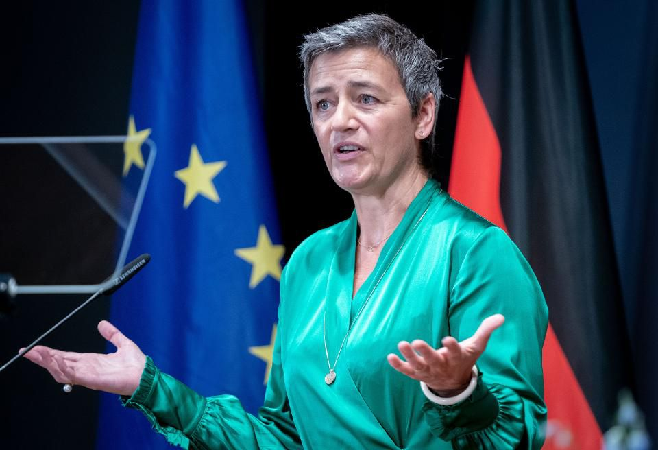 Danish politician Margrethe Vestager gets second term in EU competition job