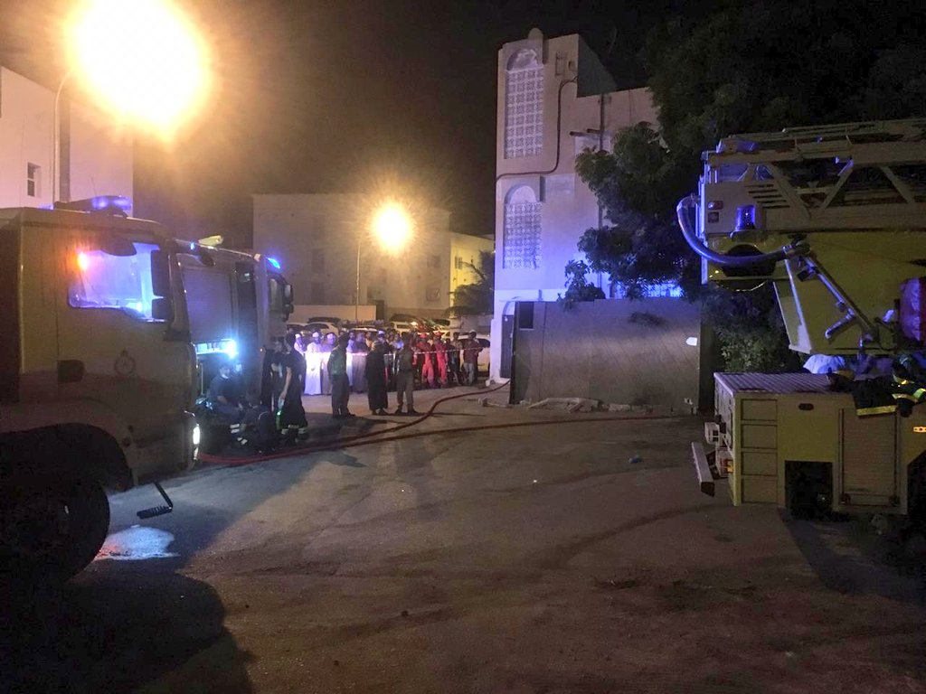 One dead, four injured in Muscat house fire