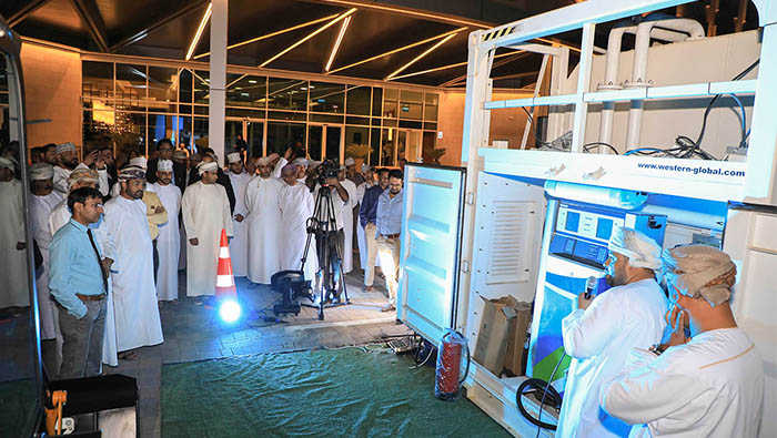 Oman Oil launches new portable container fuel station