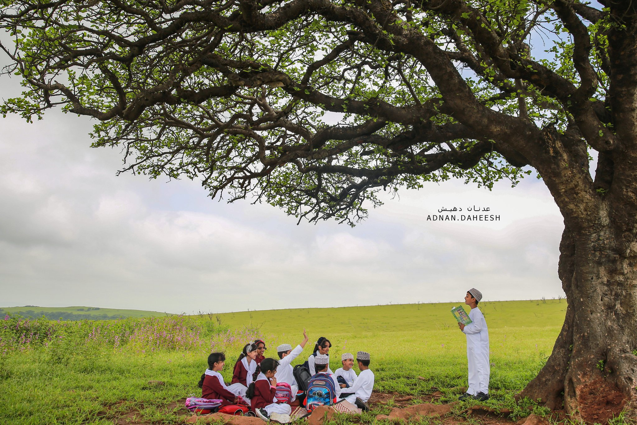 In pictures: Students of mountainous areas in Dhofar back to school