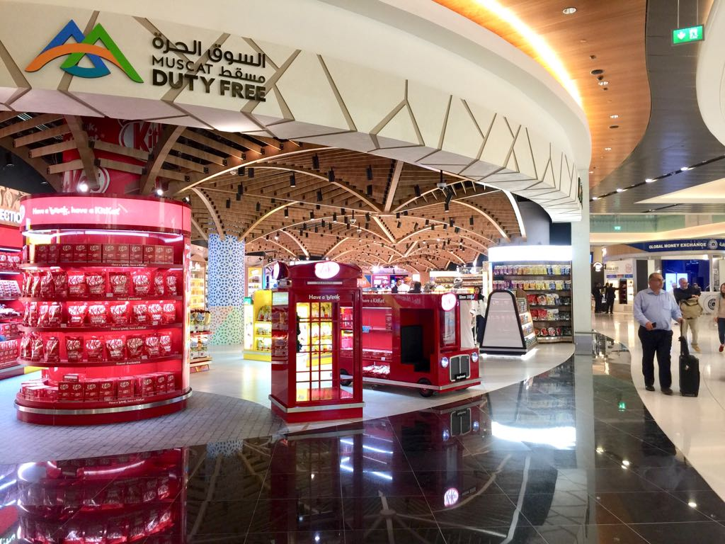 New rules for duty-free shops in Oman