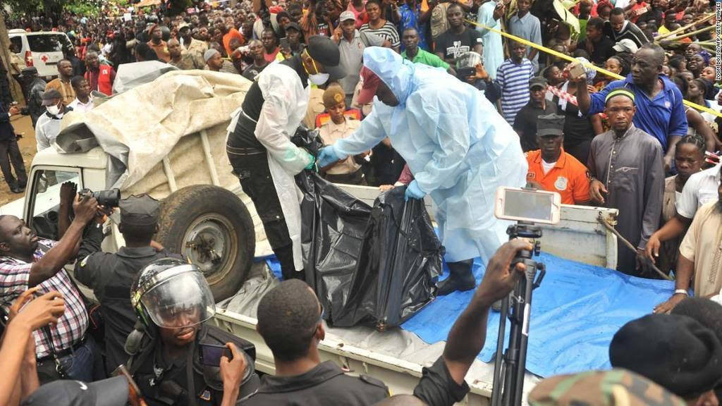 Fire at school in Liberia leaves at least 27 schoolchildren dead