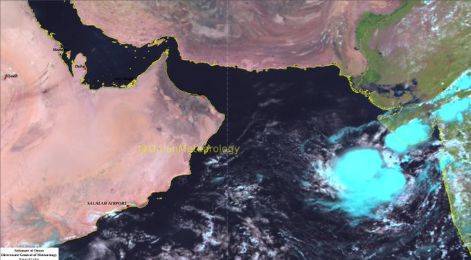 Oman weather: Low pressure area observed in the Arabian Sea
