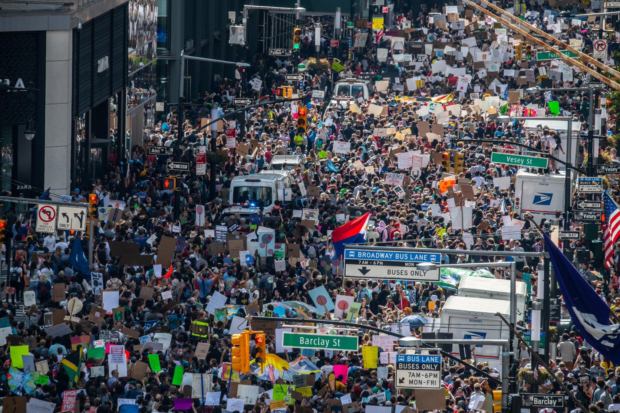 Millions mobilise globally to join biggest climate change protest ever