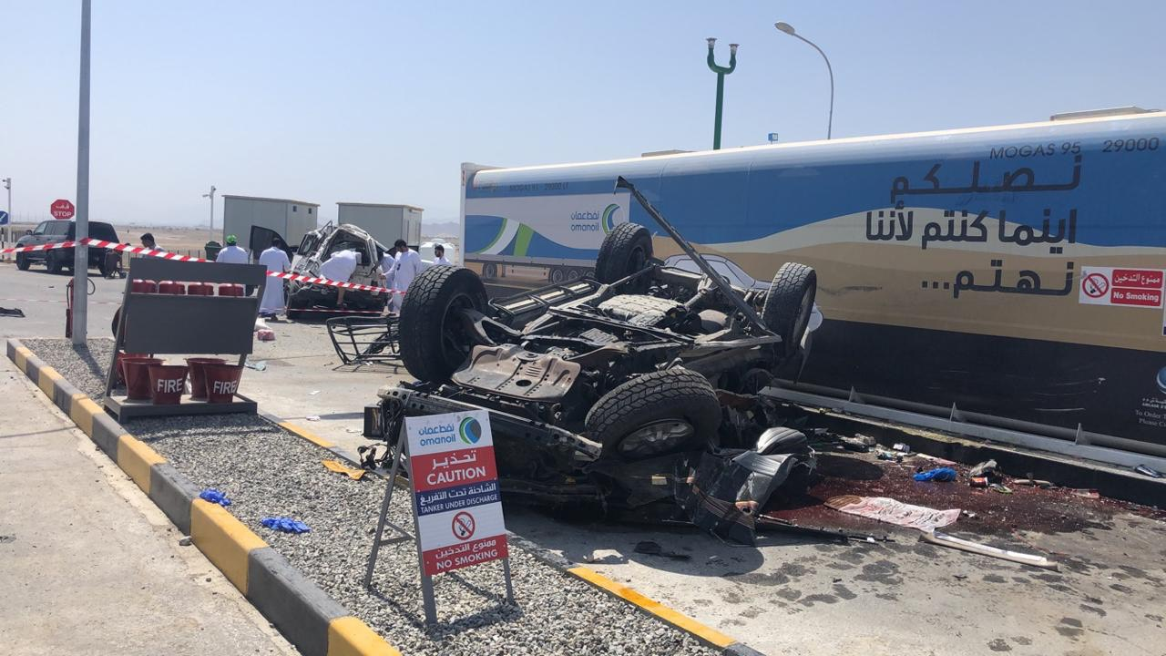Multi-vehicle collision kills three expats in Oman