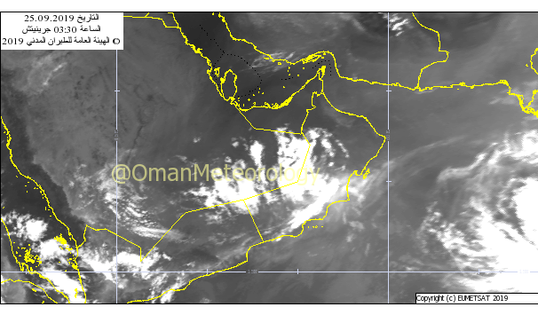 Direct effects of Hikaa over Oman end