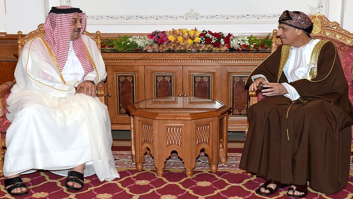 Fahd meets GCC Ministers of Justice