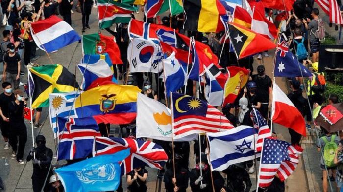 Protests in Hong Kong to mar 70th anniversary of establishment of China