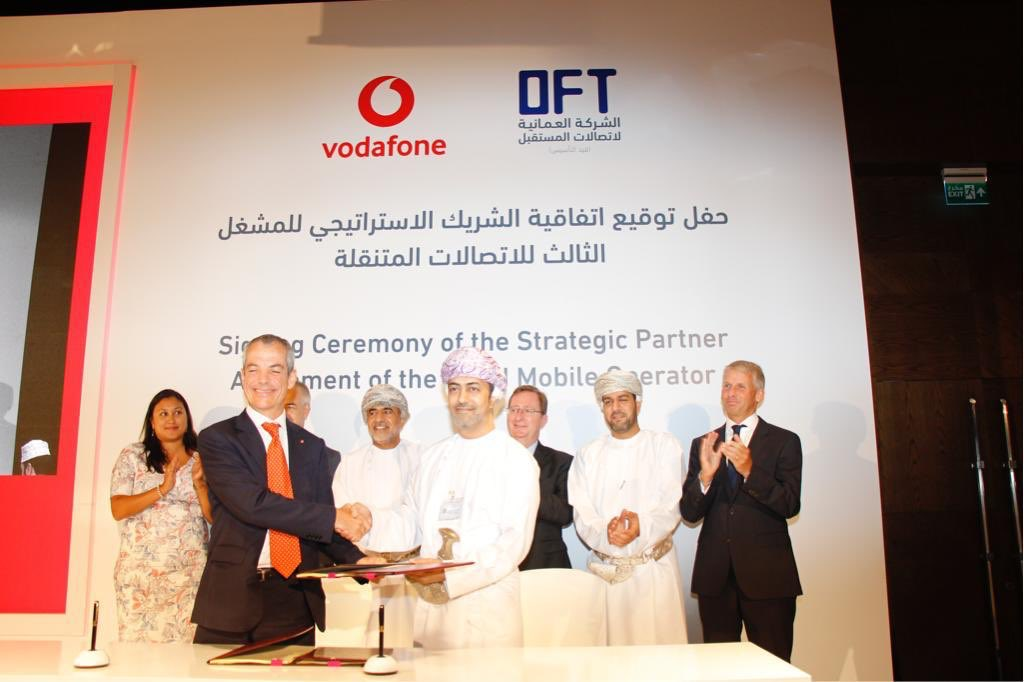 Futaisi welcomes Vodafone as third mobile operator in Oman